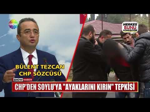 """CHP'den Soylu'ya """"Ayaklarını Kırın"""" tepkisi"""