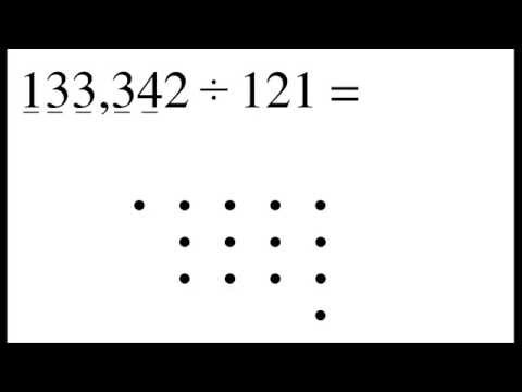 Divide Numbers By Connecting The Dots
