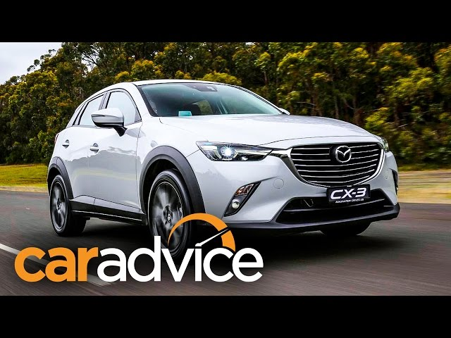 Mazda CX-3 review : First Drive - YouTube