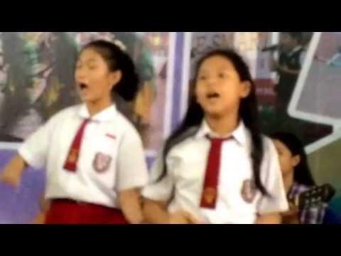 Lagu Ombai Akas @ SD Xaverius 2 Palembang