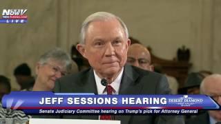 FNN: Sen. Lindsay Graham Talks College Football, Alabama Legacy During Jeff Sessions Hearing