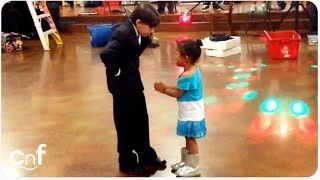 HILAROUS Jealous Little Girl | Dancing Boy Is Ladies' Man