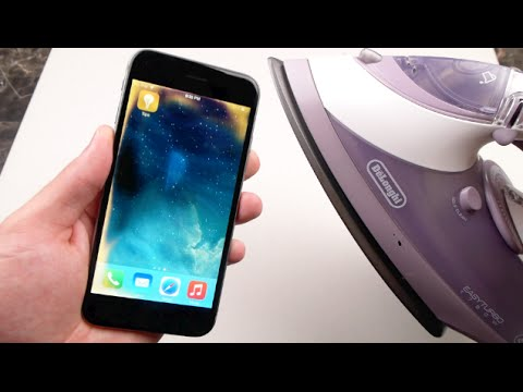 Add Cool iPhone 6 Effects With Steam Iron!