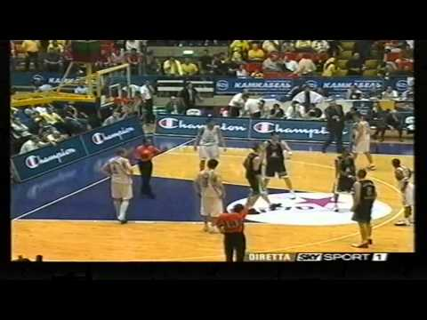 2004 Euroleague Skipper Fortitudo vs Montepaschi Siena Semifinal