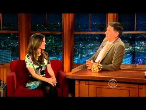Rachel Bilson on The Late Late Show with Craig Ferguson (2/3/12)