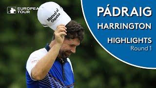 Pádraig Harrington Highlights | Round 1 | 2019 Maybank Championship