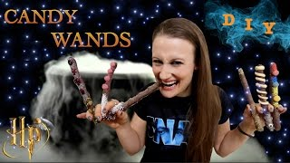 How To Make Candy Wands - Harry Potter Halloween Goodies!