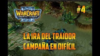 WARCRAFT 3 : THE FROZEN THRONE - LA IRA DEL TRAIDOR - GAMEPLAY ESPAÑOL