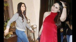 Katrina Kaif And Kareena Kapoor Clash At Manish Malhotra Birthday Party 2017