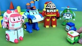 Робокар Поли и Малыш Даник спасают грузовик Терри