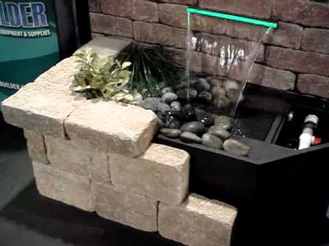 How To Build A Small Wall Waterfall