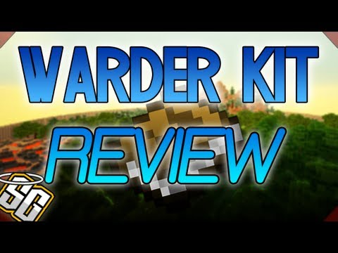 MCPVP.com | Review #35 WARDER Kit Review | Minecraft Hunger Games