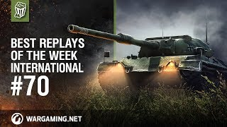 World of Tanks - Best Replays of the Week International #70