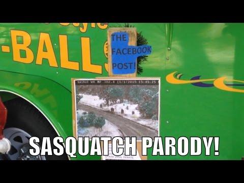 Arizona Traffic Camera Sasquatch Facebook Post (Bigfoot Parody Video)