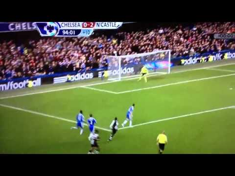 HD Papiss Cisse's amazing GOAL OF THE SEASON vs Chelsea