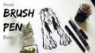 How To Draw With a (Pentel) Brush Pen · Beginner's Tips · SemiSkimmedMin