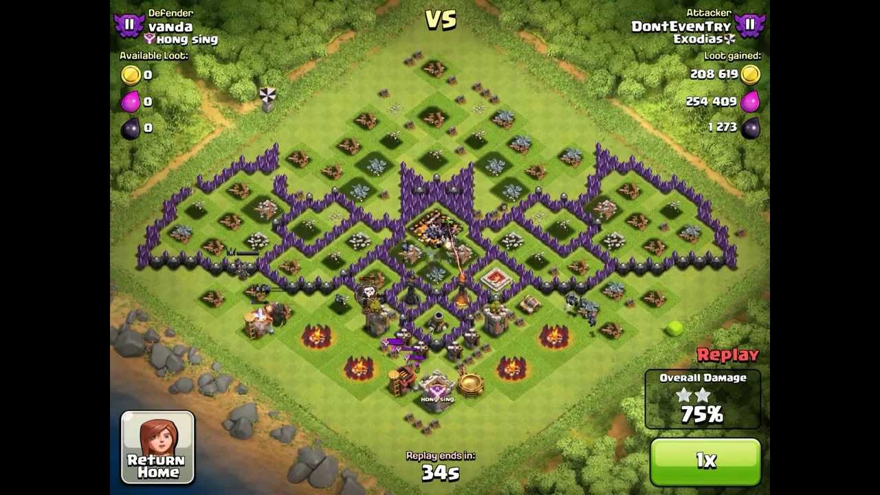 Base Base Keren Dan Unik Di Game Clash Of Clans JOS998 BLOG
