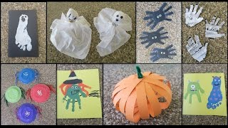 8 HALLOWEEN CRAFTS FOR TODDLERS & KIDS!
