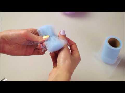 Jak Zrobić Pompony Z Tiulu | Tutorial