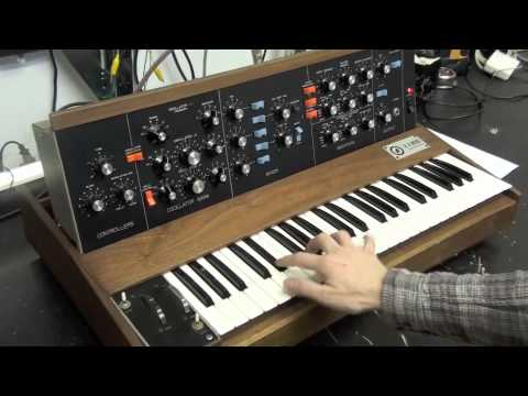 The Analog Lab NYC-Minimoog SN 1009