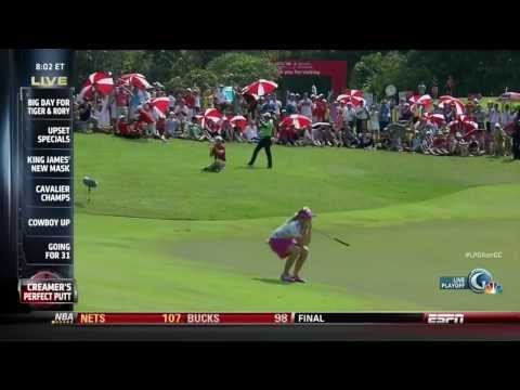 Paula Creamer's Putt Heard 'Round the World