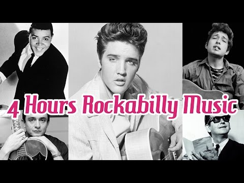 4 Hours of Rockabilly and Rocknroll Music!  Music Legends Book