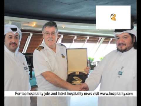 "Qatar Tourism Authority welcomes ""MS.Pacific Princess"" visiting Doha for the first time"