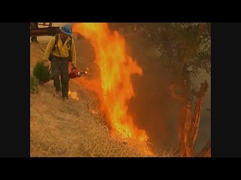 Crews Light Backfires To Control California Fire