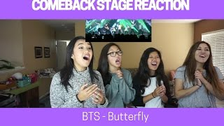 Download Lagu COMEBACK STAGE REACTION   BTS - Butterfly [Music Core] Gratis STAFABAND
