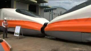 2011台灣高鐵緊急應變綜合演練 700T列車相互連結救援作業演練
