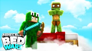 Minecraft Bed Wars - DEFENDING WITH OUR LIVES!