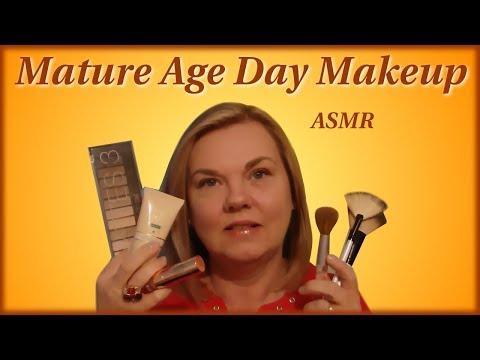ASMR Mature Age Natural Day Look Makeup Applicatio