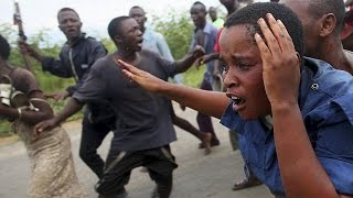 Violent clashes in Burundi - no comment