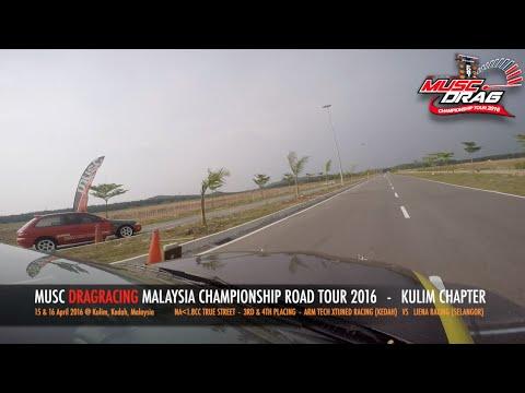 GoPro On Board 4 - Musc Drag Racing Kulim 2016