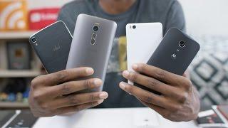Top 5 Smartphones Under $300! (2015)