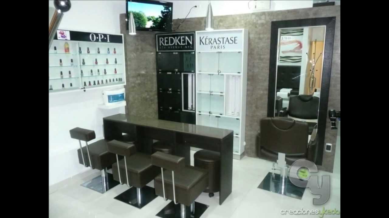 Muebles para salones de belleza peluquer as y spa lima - Como hacer un mueble de salon ...