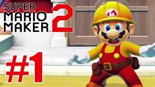Super Mario Maker 2 Story Mode Gameplay Walkthrough Part 1