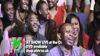 Seyi Law in PRIMARK - LIVE ON THE AY SHOW