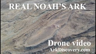 Drone flying over real Noah's ark Turkey, our own version, update 2, ArkDiscovery.com