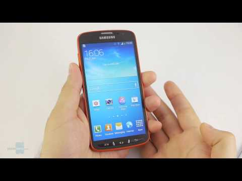 Samsung Galaxy S4 Active hands-on
