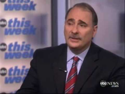 David Axelrod Defends President Obama's Stimulus Package