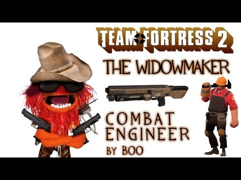 Widowmaker Gameplay | Combat Engineer - Team Fortress 2