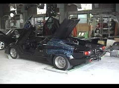 Lamborghini Countach on Dyno