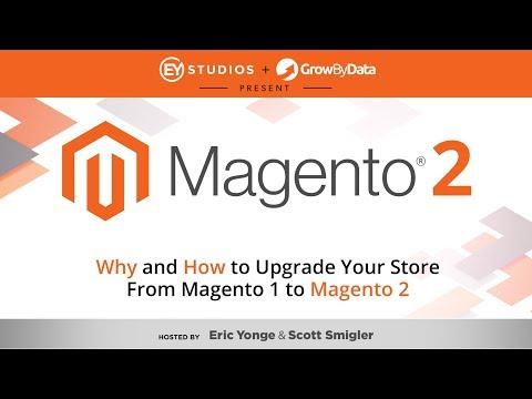 Upgrade from Magento 1 to Magento 2