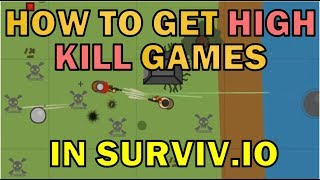 Getting High Kill Games in Surviv.io - In-Depth Solo Analysis