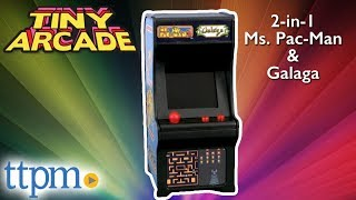 World's Smallest Tiny Arcade 2-in-1 Ms. Pac-Man and Galaga from Super Impulse