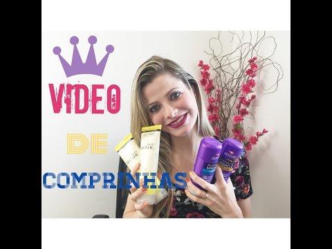 Video de Comprinhas Parte 3 - Produtos de cabelo e Pele