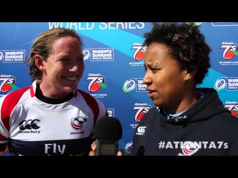 Captain Jillion Potter after Canada rematch--Atlanta 7s