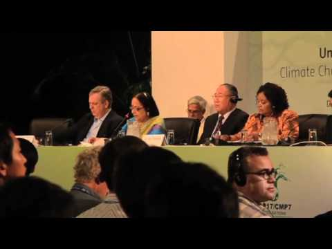COP17 Durban: Minister Jayanthi Natarajan talks tough