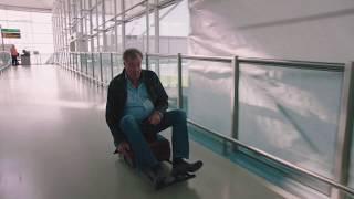 Jeremy Clarkson Gives it some Revvs on a Suitcase